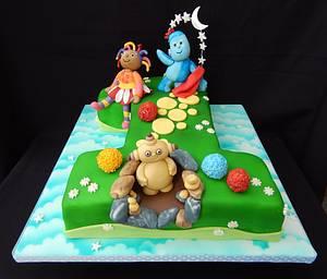 1 In The Night Garden Cake - Cake by Elizabeth Miles Cake Design