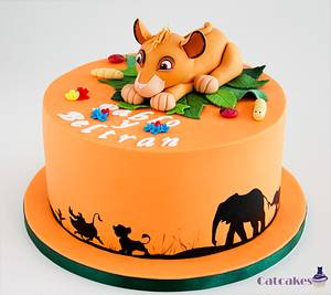 Lion King cake - Cake by Catcakes