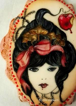 """Stories"""" Snow White"""" - Cake by Anna Bonilla"""