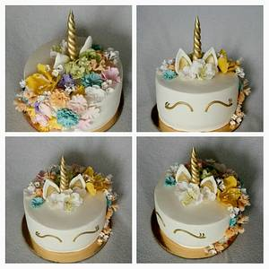 Unicorn - Cake by Anka