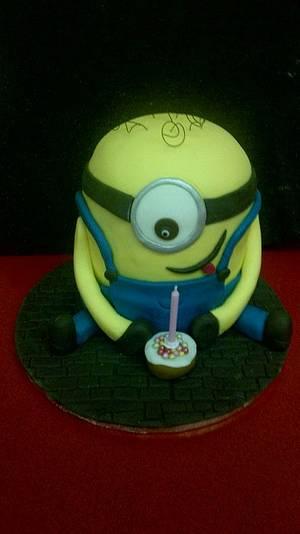 Minion cake - Cake by cupcakes of salisbury