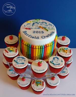 Thank You Teacher! - Cake by CakeyCake