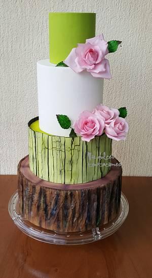 Rustic birthday cake - Cake by Asya Vencheva