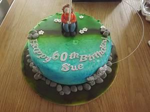 Going Fishing - Cake by JulieCraggs