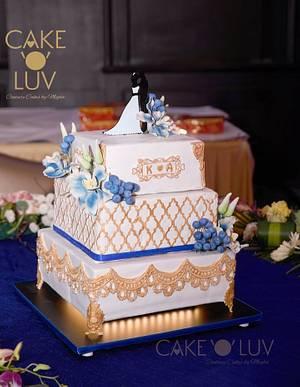 Royal affair - Cake by Cake O'Luv - megha