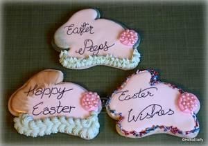 Personal Easter Bunnies - Cake by Sweet Dreams by Heba