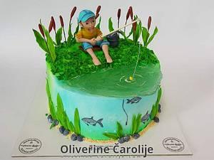 Fisherman - Cake by Oliverine Čarolije