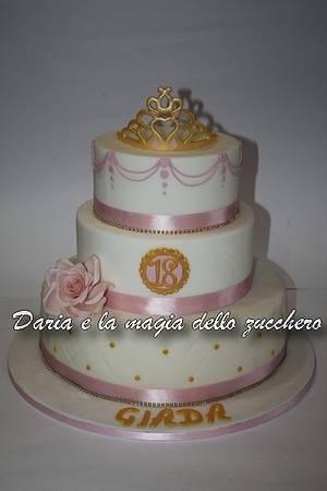Tiara cake - Cake by Daria Albanese
