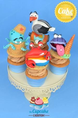 Beach Rascals Cupcakes - Cake by Un Cupcake, l'Addition !
