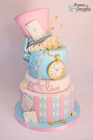 alice nel paese delle meraviglie - Cake by aroma di vaniglia