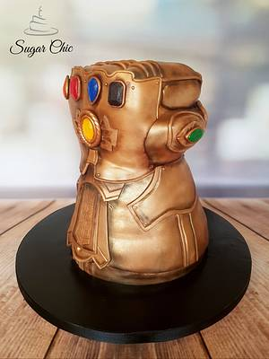 Infinity Gauntlet Cake - Cake by Sugar Chic