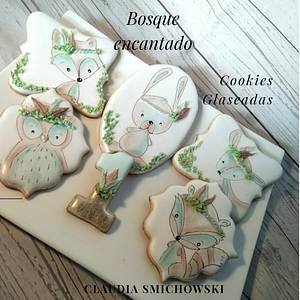Bosque encantado - Cake by Claudia Smichowski