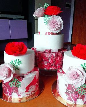 life in pink - Cake by ANTONELLA VACCIANO
