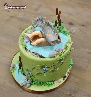 Fishing cake - Cake by Naike Lanza
