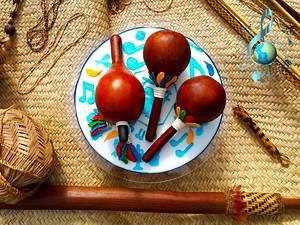 "Music around the World Collab -""Xavante Tribal Music"" - Cake by Iria Jordan"