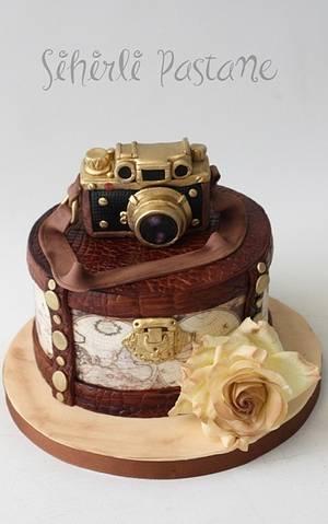 Vintage Leica Camera Cake - Cake by Sihirli Pastane