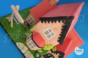 The House Cake - Cake by Helena, Baked Cupcakery