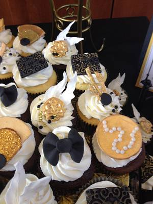 Great Gatsby Cupcakes - Cake by Misty