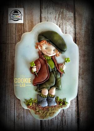 Four Leaf Clover..... have you ever found one? - Cake by The Cookie Lab  by Marta Torres