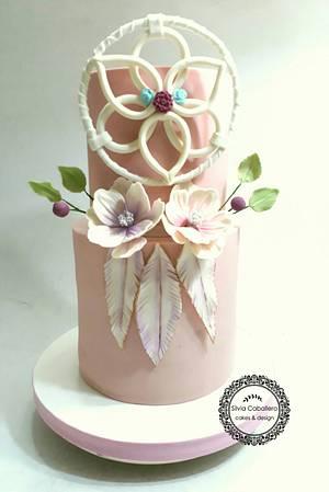 Boho style! - Cake by Silvia Caballero