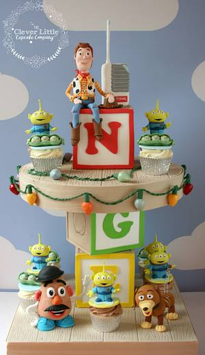 Toy Story Cupcakes - Cake by Amanda's Little Cake Boutique
