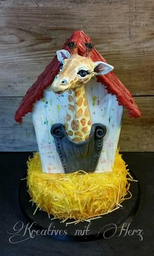 Giraffe Matilda  - Cake by Heike Darmstädter