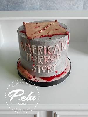 American Horror Story - Cake by Petra Krátká (Petu Cakes)