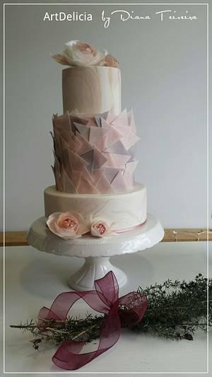 Wedding Cake - Cake by Unique Cake's Boutique
