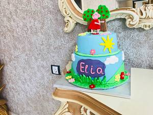 Peppa pig cake - Cake by MontiCakes&Catering