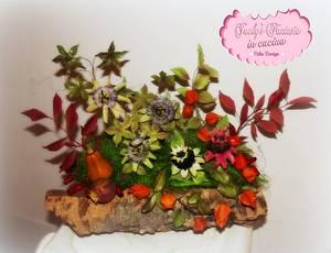 Composizione fiori di zucchero! - Cake by Jacky Ceron