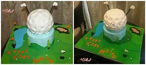 Golf lovers cake  - Cake by TheWhiskByHema