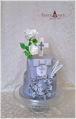 First holly communion  - Cake by Tortolandia