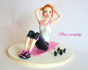 Fitness time - Cake by Carmela Iadicicco (torte con brio)