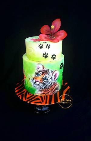 Billy the tiger - Cake by Mariya's Cakes & Art