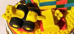 Yellow Lego cake - Cake by Clara
