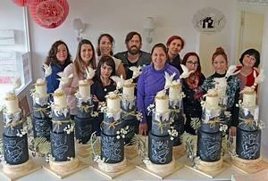 Country wedding cake class tour! - Cake by Daniel Diéguez