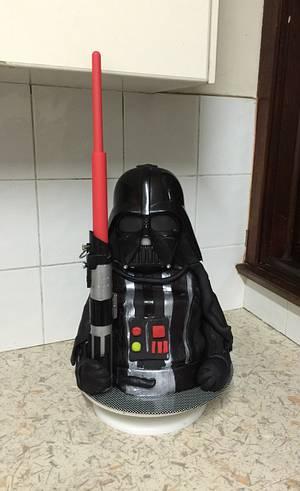 Darth Vader cake  - Cake by Inspired Sweetness