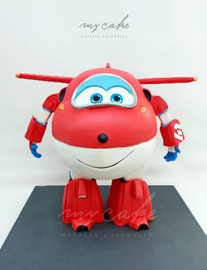 Super wings Jett Cake - Cake by Natalia Casaballe