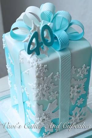 A Birthday Cake For Dan - Cake by Vavijana Velkov