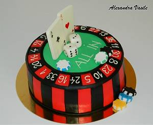 Casino Cake - Cake by alexandravasile