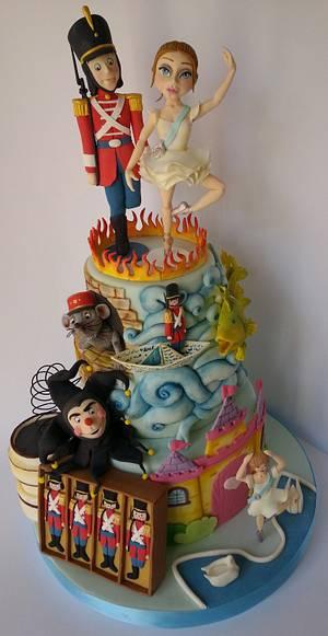 The steadfast tin soldier - Cake by Vincenza Rito - l'Arte nelle torte