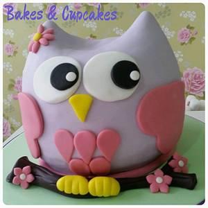 Owl Cake - Cake by Mónica