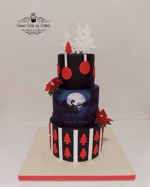 Christmas Cake  - Cake by Sweet Side of Cakes by Khamphet