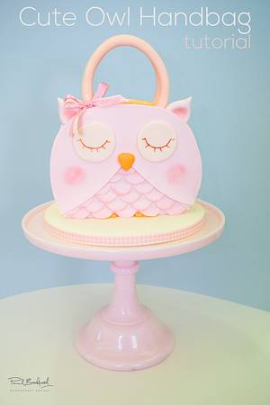Owl Handbag Cake - Cake by Paul Bradford Sugarcraft School