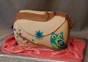 Owl purse cake - Cake by The Cake Life