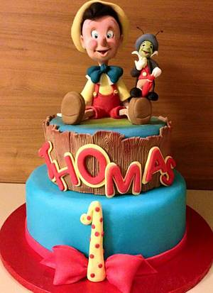Pinocchio cake  - Cake by MRosariaSposito