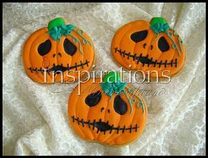 Jack o'lantern cookie - Cake by Inspiration by Carmen Urbano