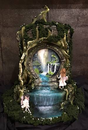 Enchanted Forest - Cake by  Sue Deeble