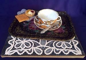 Grandmother's favorite tea cup - Cake by Anastasia Kaliazin