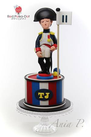 Napoleon cake - Cake by RED POLKA DOT DESIGNS (was GMSSC)